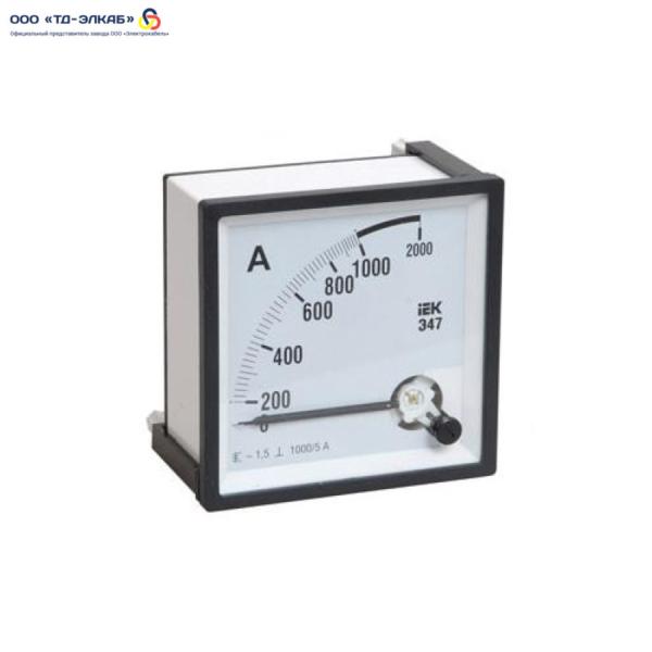 Амперметр Э47 150/5А кл. точн. 1,5 72х72мм
