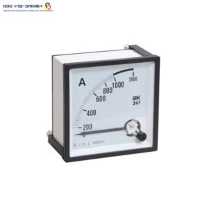Амперметр Э47 2000/5А кл. точн. 1,5 72х72мм