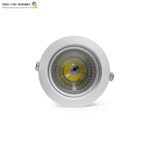 Встраиваемый светильник COB Liot 003-07W COB 7W 75 520lm CCT4000K ø 120mm