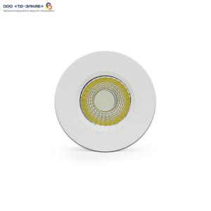 Встраиваемый светильнтк COB Liot 004-05W COB 5W 75 370lm CCT4000K 75mm