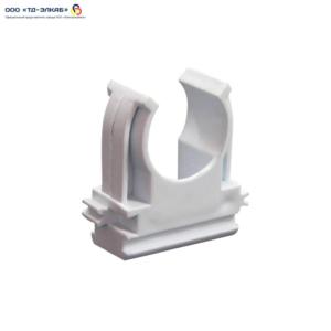 Держатель с защелкой (клипса) D 25 мм (100 шт/упак)