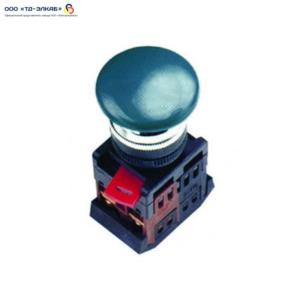 "Кнопка AEА-22 ""Грибок"" синий d22мм 1з+1р ИЭК"
