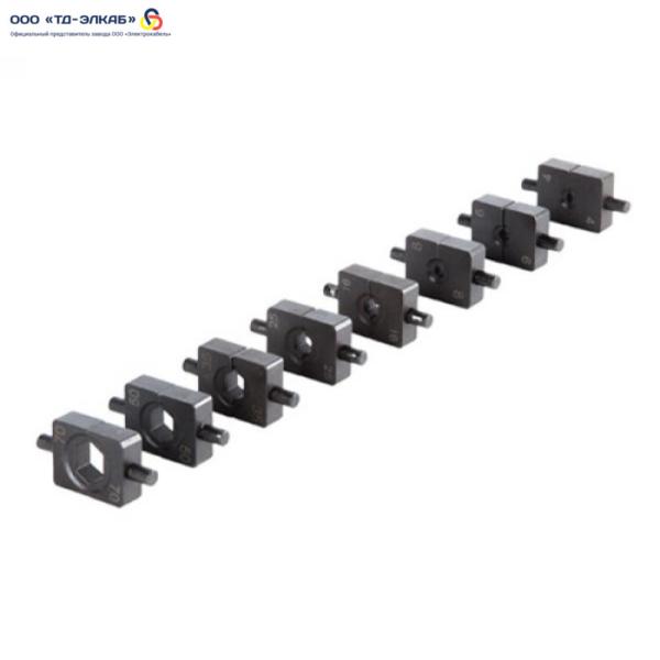 Комплект матриц к ПГ-70 (шестигран.) (4-70 мм, 9 шт.)