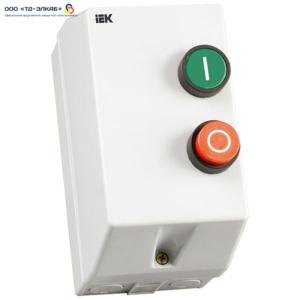 Контактор КМИ34062 40А в оболочке Ue=380В/АС3  IP54 ИЭК