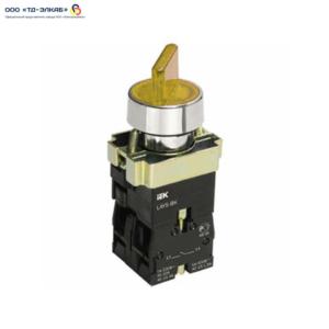 Переключатель LAY5-BK2565 2 положения желтый ИЭК