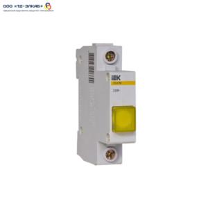 Сигнальная лампа ЛС-47 (желтая) (неон) ИЭК
