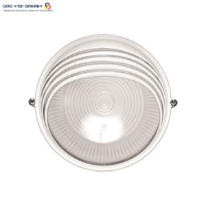 Светильник НПП1107 черный/круг ресничка 100Вт IP54  ИЭК