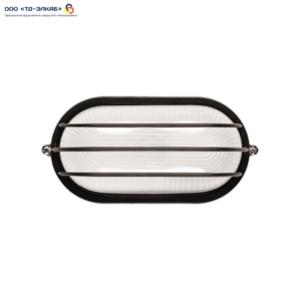 Светильник НПП1206 белый/овал сетка  100Вт IP54  ИЭК