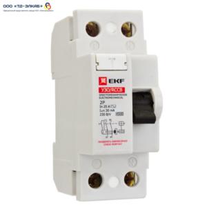 УЗО ВД-40 Basic 2P 25А/10мА (электромеханическое)