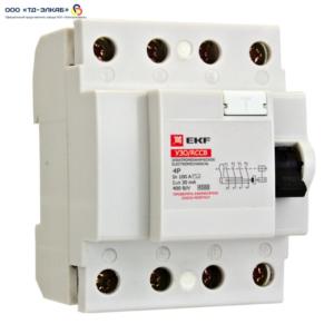 УЗО ВД-40 Basic 4P 63А/30мА (электронное)