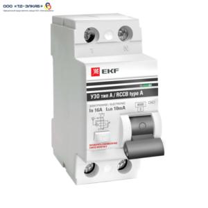 ВД-100 PROxima 2P 40А/30мА (электромеханическое)