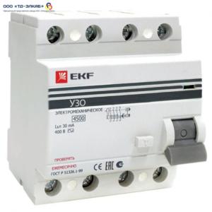 ВД-100 PROxima 4P 25А/10мА (электромеханическое)