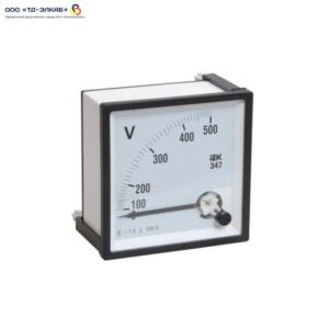 Вольтметр Э47 100В кл. точн. 1,5 72х72мм