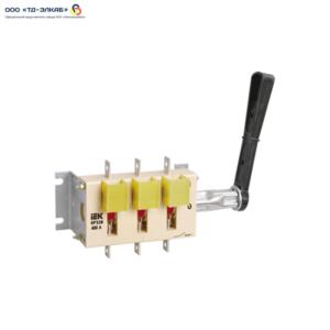 Выключатель-разъединитель ВР32И-39A31240 630А IEK