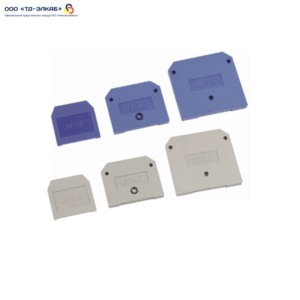 Заглушка для ЗНИ4-6мм2(JXB35-50А)синий ИЭК