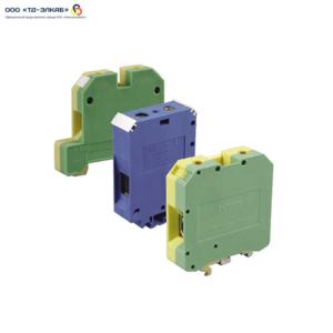 Зажим наборный ЗНИ-4мм2 (JXB35А) синий ИЭК